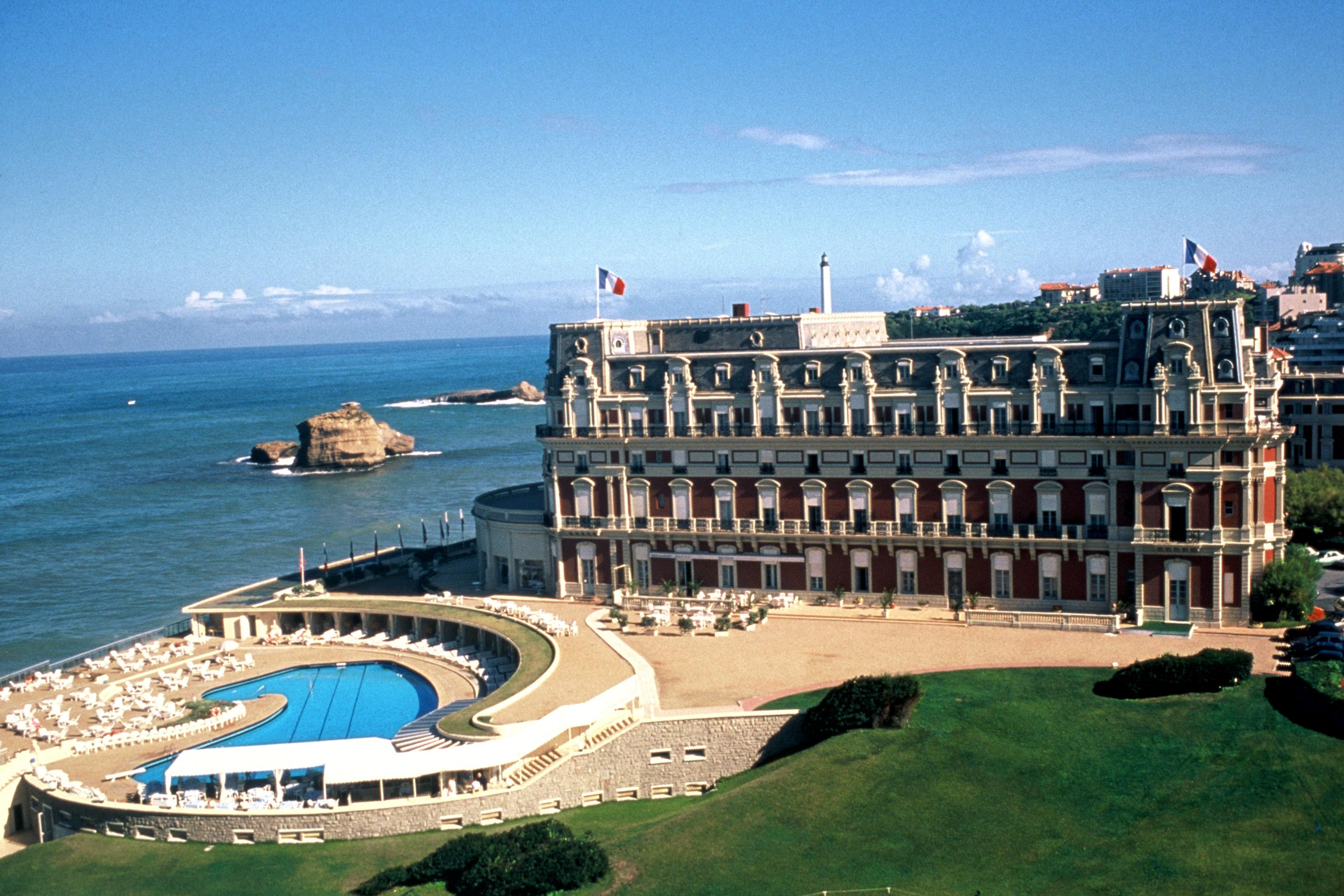 hotel du palais biarritz france travel de la creme